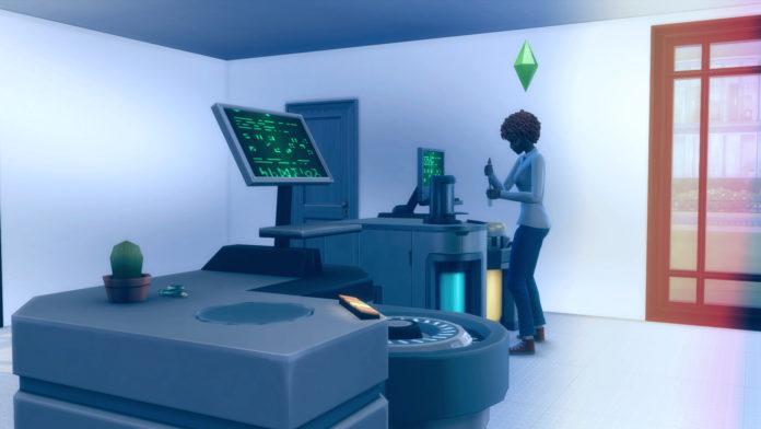 Мод «Химический анализатор» от Peter Molinari для Sims 4
