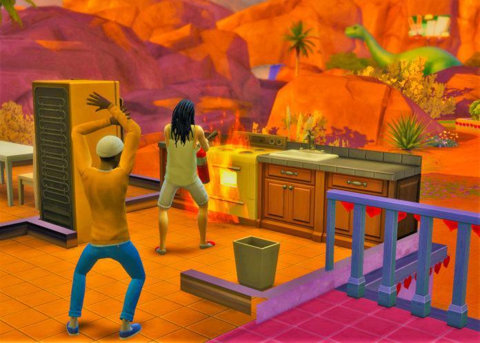 Мод «Пожарники» от SHEnanigans для Sims 4