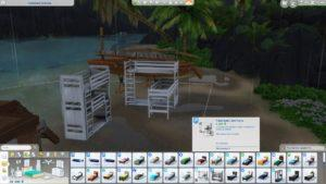 Мод «Многоярусовые кровати» от necrodog для Sims 4