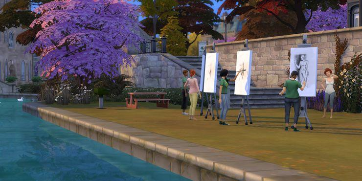 Что выбрать в Sims 4: Фоксбери или Бритчестер. Часть 2