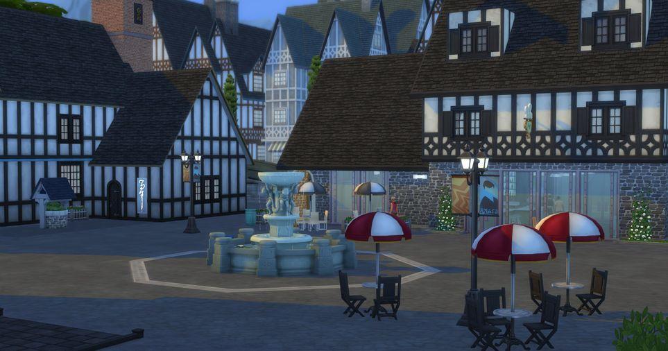 Рейтинг миров Sims 4, позиции 4-1