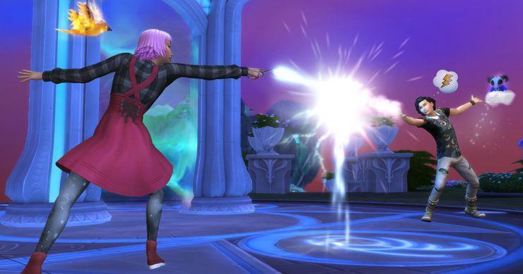 Как стать профессиональным чародеем в Sims 4 Мир магии