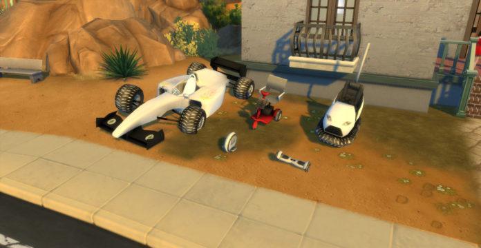 Мод «Новый транспорт» от necrodog для Sims 4