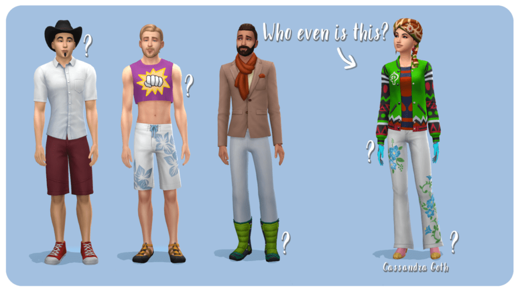 Замена и обновление миров Sims 4
