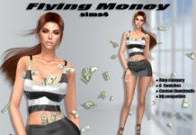 Аксессуар «Летающие деньги» от Ishkriasims4 для Sims 4