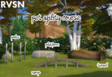 Набор предметов для собак от RAVASHEEN для Sims 4