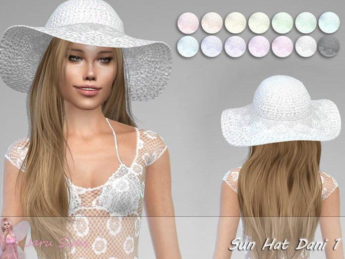 Летняя шляпка от Jaru Sims для Sims 4