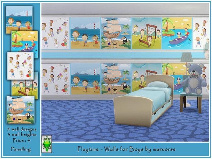 Картины для детской от marcorse для Sims 4