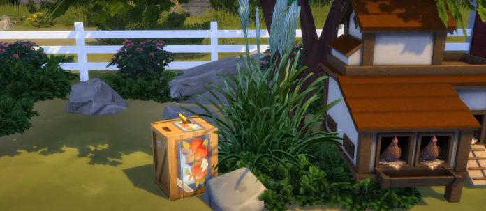 Мод «Птицы» от Bakie для Sims 4