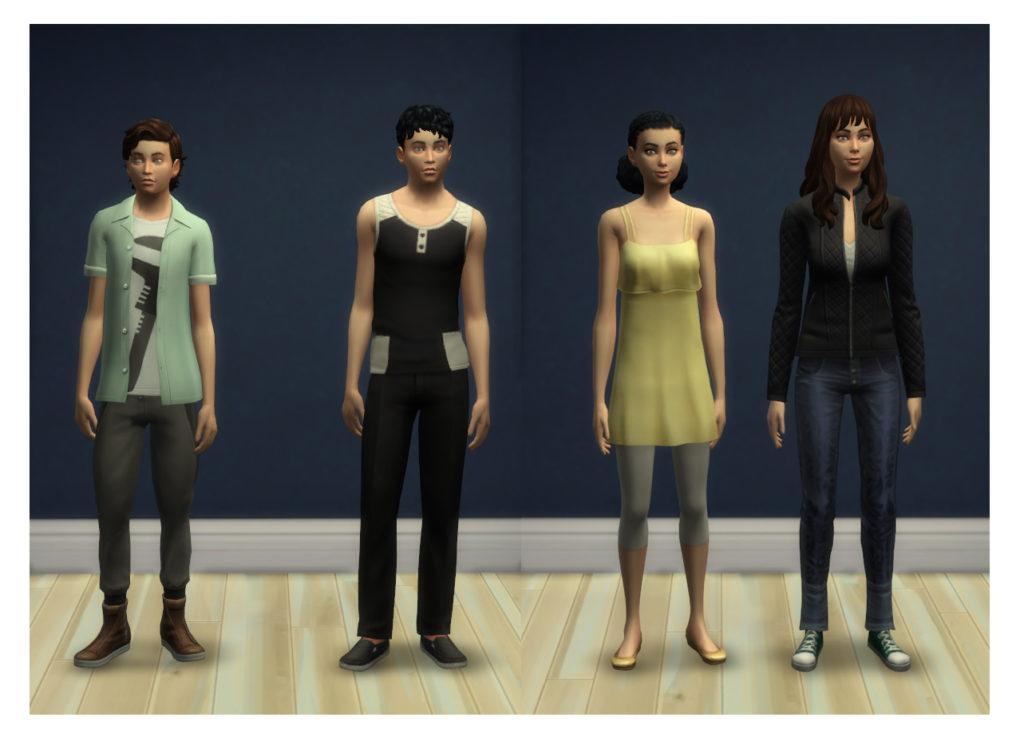 Мод «Рост симов» от Menaceman44 для Sims 4
