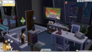 Мод «Симпсоны» от CustomChannelMaker для Sims 4