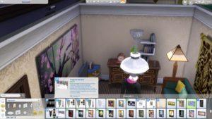 Создание картин в Sims 4 с личными скриншотами