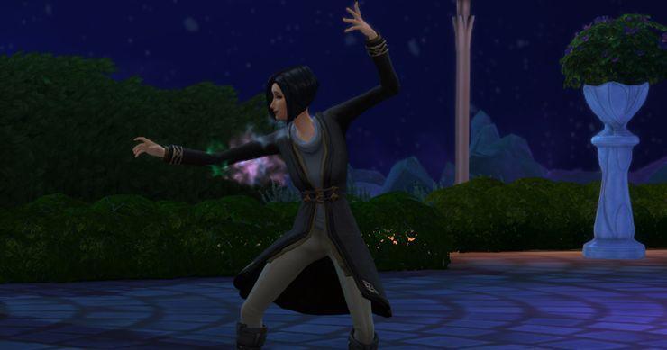 Как быстро снять и получить проклятия в Sims 4 Мир магии. Часть 2