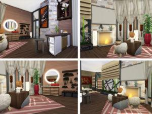 Дом-студия «Дзен» от Ineliz для Sims 4