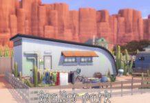 Жилой дом «Трейлер» от LilaBlau для Sims 4