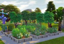 Мод «Вечнозелёный сад» от gettp для Sims 4