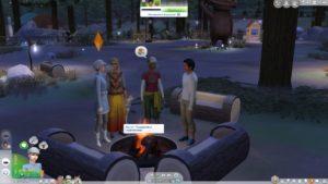Мод «Спокойное общение» от yakfarm для Sims 4
