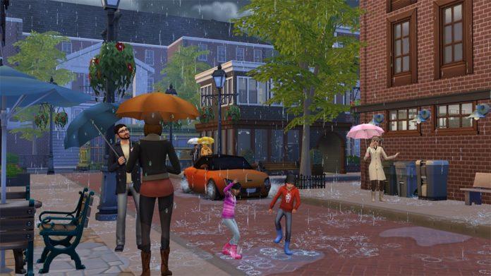 Мод «Последствия грозы» от flerb для Sims 4