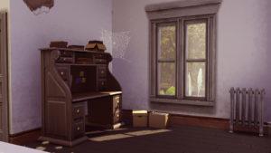 Заброшенный жилой дом от jenba для Sims 4