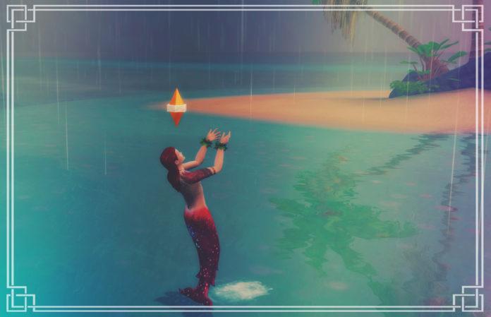 Все особенности русалок в Sims 4. Часть 1
