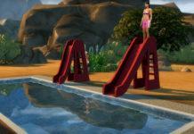 Мод «Горки для бассейна» от necrodog для Sims 4