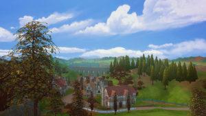 Мод «Облака» от Miiko для Sims 4