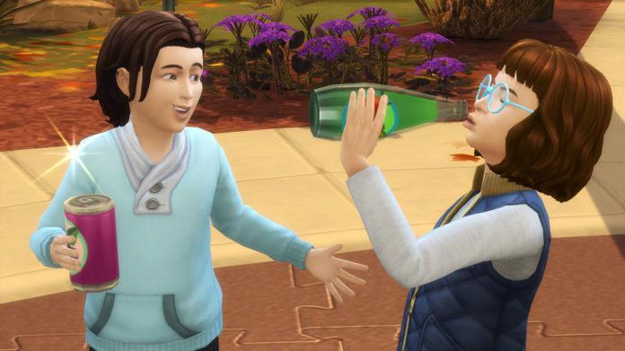 Мод «Газировка детям» от K9DB для Sims 4
