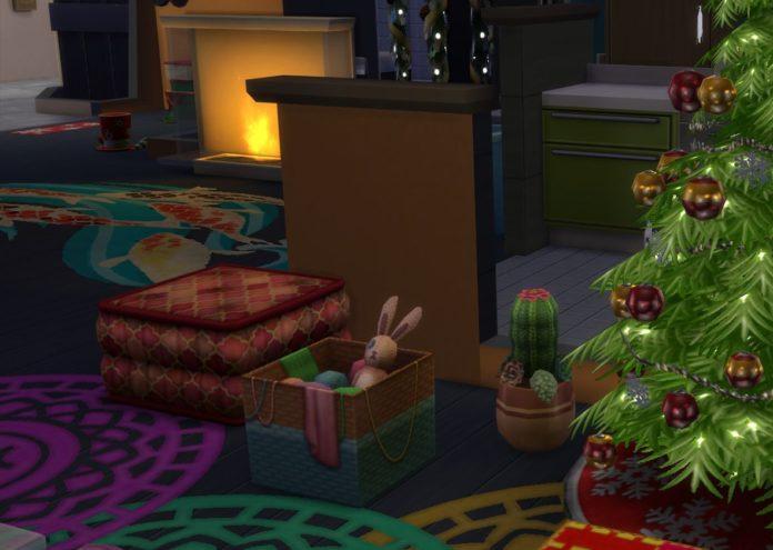 Мод «Новый вязаный кактус» от Narcolepzzzy для Sims 4