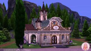Полная застройка Глиммербрука от MikkiMur для Sims 4