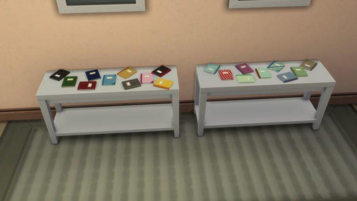 Мод «Записная книжка» от Ailes для Sims 4