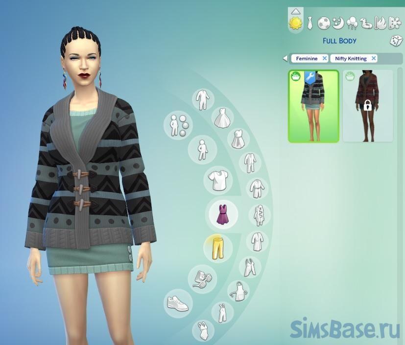 Мод «Разблокирование одежды» от CmarNYC для Sims 4
