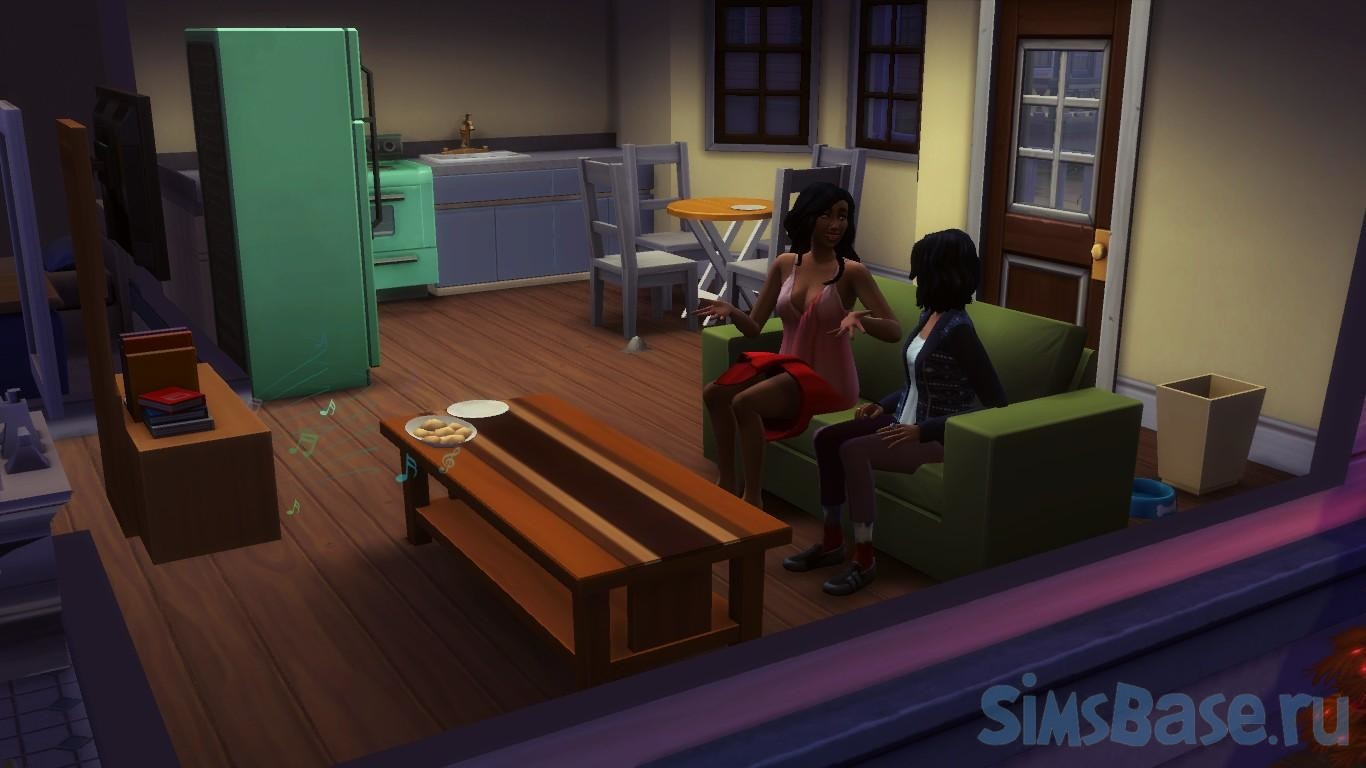 Мод «Меньше автономного чтения книг» от KaneKane для Sims 4