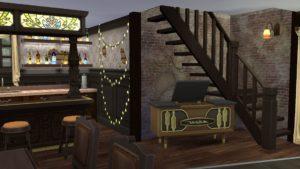 Вампирский бар Винденбурга от xmathyx для Sims 4