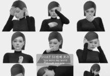 Набор поз «Печаль, тоска» от ssi-at для Sims 4