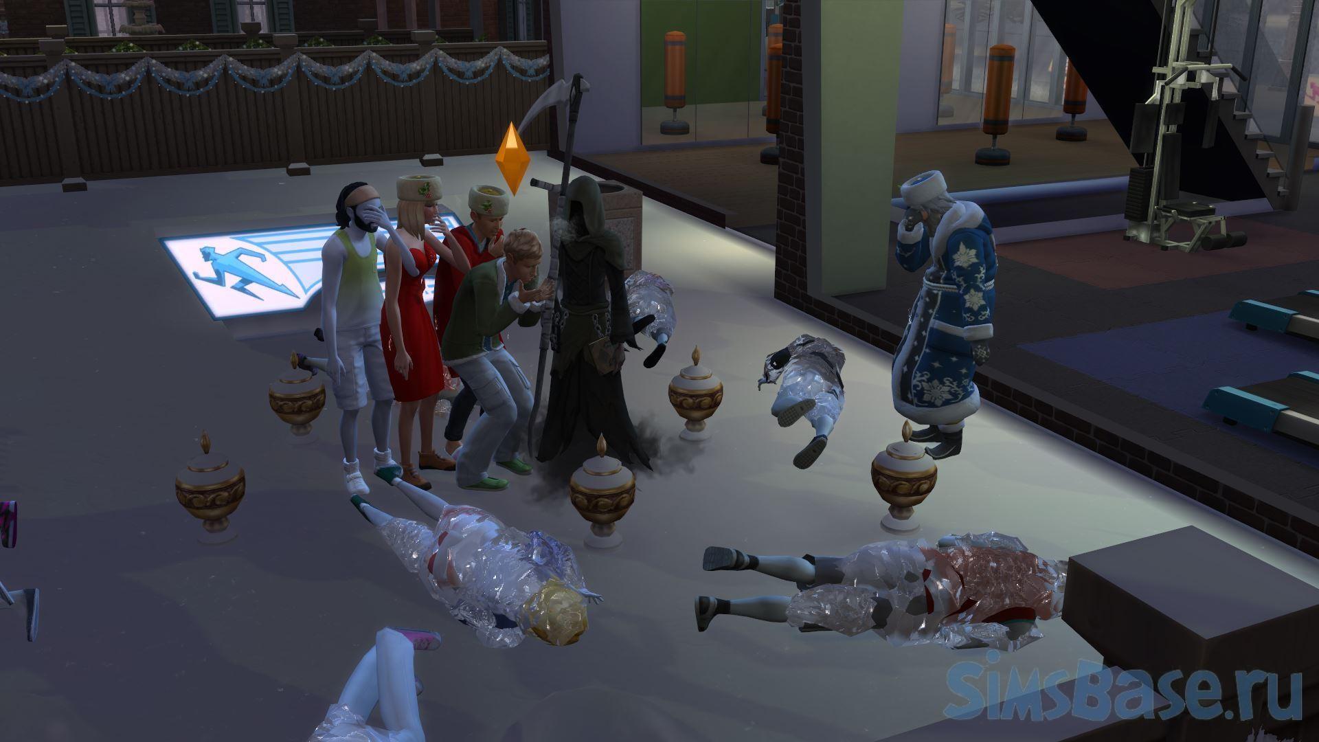 Мод «Нет реакции на чужую смерть» от Zero для Sims 4