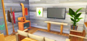 Жилой дом «Яркие контейнеры» от lemonpxel для Sims 4
