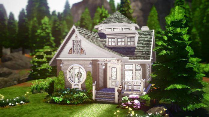 Жилой дом «Мир магии» от radiantsimsyt для Sims 4