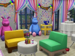 Детский развлекательный центр от melapples для Sims 4