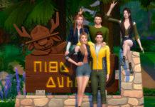 Набор поз «Друзья в походе» от Beto_ae0 для Sims 4