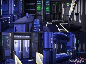 Жилой дом «Разрушитель» от Xandralynn для Sims 4