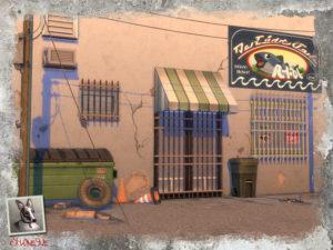 Набор декора для окон от Cyclonesue для Sims 4