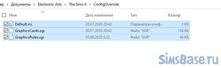 Продвинутая настройка игры Sims 4 после патча 1.66