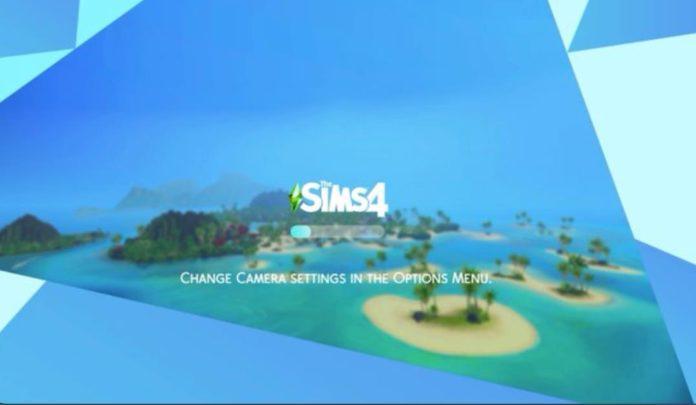 Набор загрузочных экранов «Регионы» от Arnie для Sims 4