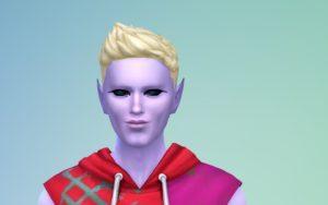 Мод «Улучшение макияжа для инопланетян» от AedanStarfang для Sims 4