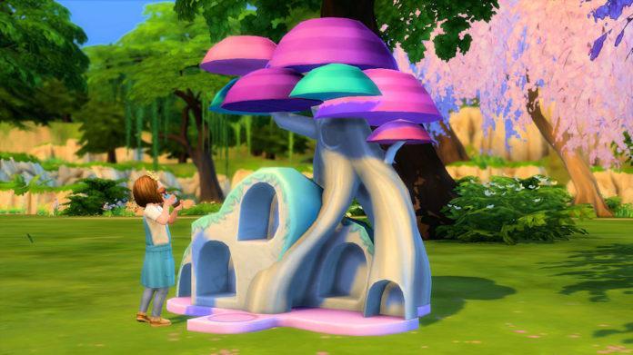 Мод «Праздничные традиции для малышей» от Caradriel для Sims 4