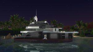 Жилой дом «Яхта» от PinkCherub для Sims 4