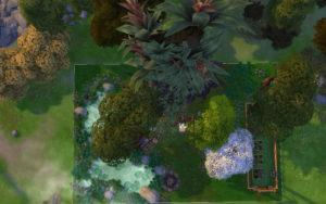 Жилой дом «Бобовый стебель» от alexiasi для Sims 4