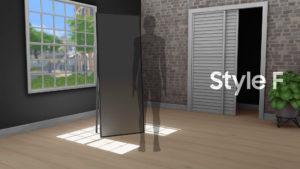 Мод «Вид сзади в CAS» от littledica для Sims 4