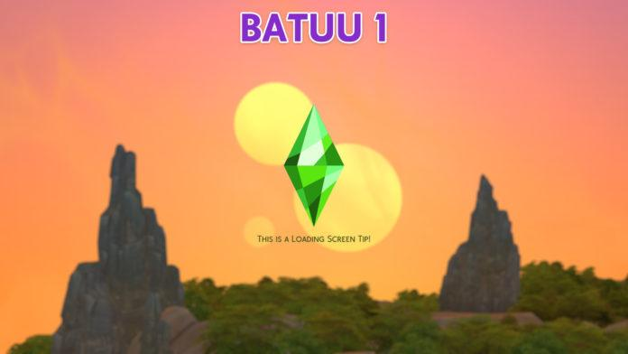 Экраны загрузки «Путешествие на Батуу» от Lotharihoe для Sims 4