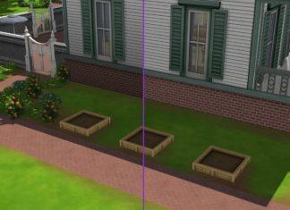 Мод «Яркий цвет фундамента» от Lotharihoe для Sims 4